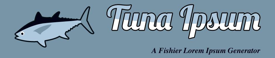 Tuna Ipsum